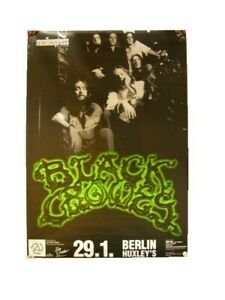 The Black Crowes Poster Concert Berlin Tour Shot Glow