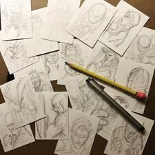 CHAT AND ORIGINAL SKETCHCARD WITH Wolverine and Avengers artist Adam Kubert!