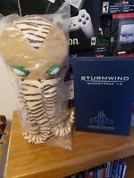 Sturmwind Game!+ Kraken Plush!!! Dreamcast Sega Redspot Video Games Rare!