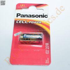 2 x LR1 Alkaline Cell Power Battery LR1L/1BE Panasonic  2pcs