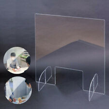 Sneeze Guard Acrylic | Clear Plastic Protection Barrier | Cashier Counter Bank