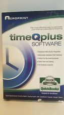 Acroprint timeQplus Software - Network Accessible Time and Attendance Software T