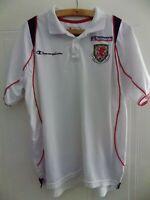Wales Football Shirt Cymru Original Polo Trikot Jersey Champion Top Mens Size