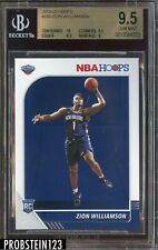 2019-20 Panini Hoops #258 Zion Williamson Pelicans RC Rookie BGS 9.5