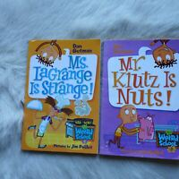 WEIRD SCHOOL #8 & #2 Dan Gutman Collection Children's Book FICTION School KIDS