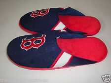 MLB Boston Red Sox Team Jersey Indoor/Outdoor Slippers ~ Size Large (11-12)