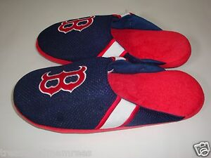 MLB Boston Red Sox Team Jersey Indoor/Outdoor Slippers ~ Size XL (13-14)