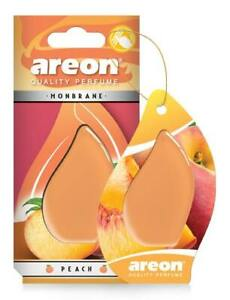 AREON Monbrane AMB03 Car Hanging Air freshener Gel, Peach (Pack of 3)