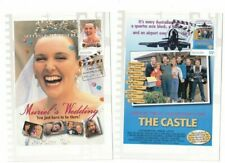 2008 Australia Favourite Films Maxi Cards Set of 5 Clean