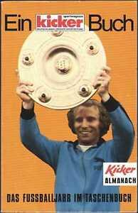 Kicker Almanach 1978 - Das Fußballjahr im Taschenbuch