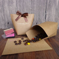 5x Bowknot Thank You Candy Bags Wedding Gift Box Package Case Party Favor Pretty