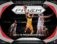 2017-18 Panini Prizm Basketball Complete Your Set Pick 25 Cards From List