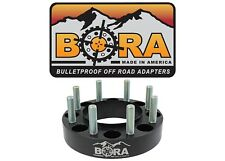 """Ford F-350 2.50"""" Dually Wheel Spacers (1999-2004) (2) by BORA - Made in the USA"""