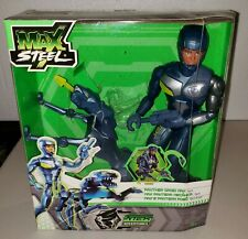 "Panther Droid Max from Max Steel 11"" Action Figure by Mattel New 2011"