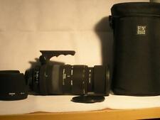 Sigma 50-500mm F4-6.3 Apo DG HSM D AF-S Nikon Mount Lens