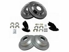 For 2002-2005 GMC Envoy Brake Pad and Rotor Kit Front and Rear 33428MZ 2003 2004
