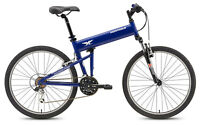 "Montague Paratrooper Express Blue Folding Mountain Bike 16"" Small New"