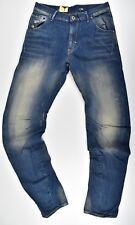 G-Star Raw, ARC 3d Loose tapered w32 l34, estado Denim Medium aged Jeans,! nuevo!