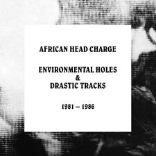 AFRICAN HEAD CHARGE - ENVIRONMENTAL HOLES & DRASTIC TRACKS: 1981-1986  5 CD NEU