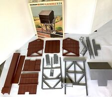 Bachmann Plasticville O-S Coaling Station 1975  With Box VTG NO GLUE