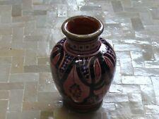 Oriental Small Ceramic Vase Deco Handmade Morocco