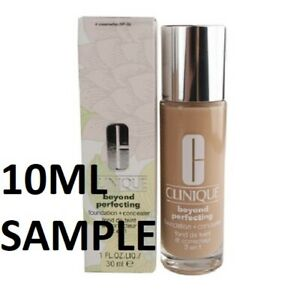 CLINIQUE BEYOND PERFECTING FOUNDATION 4 CREAMWHIP VF-G 10ML SAMPLE FRESH