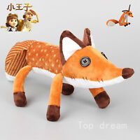New Lovely film The little Prince Le Petit Prince 45cm Fox Plush Doll Puppet Toy