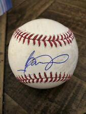 Jeimer Candelario Detroit Tigers Chicago Cubs Autographed Signed Baseball