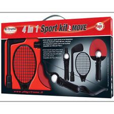 Xtreme Kit 4 attrezzi per giochi sportivi compatibili con i move pad PS3 goichi