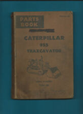 CATERPILLAR 955 TRAXCAVATOR SERIAL 77A1-UP PARTS BOOK FEBRUARY 1965 EDITION