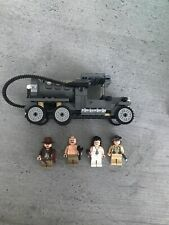 LEGO Indiana Jones Fuel Truck + Mini figures From Fight on the Flying Wing 7683