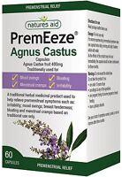 Natures Aid PremEeze Agnus Castus | Premenstrual Relief 60 Capsules