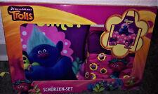 3 tlg Schürzen-Set Disney Trolls Schürze + Handschuh + Topflappen