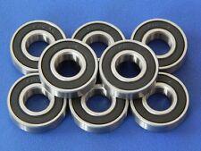 8 Stück 6001 2RS (12x28x8 mm) Kugellager, Rillenkugellager