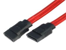 45cm Serial ATA SATA 2 Cable Lead Hard Drive Data 0.5m Red  LW