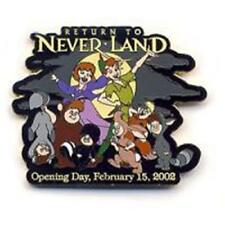 Return To Neverland Movie Opening Day February 15, 2002 Le 2000 Disney Pin 9944