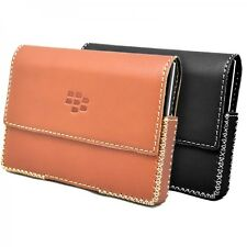 Genuine Leather Pouch Case Cover WEARING HORIZONTAL for BlackBerry Passport