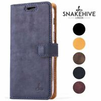 Snakehive® Samsung Galaxy S6 Edge Vintage Leather Wallet Phone Case w/Card Slots