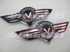Gas Tank Emblem Badge Decals for Kawasaki Vulcan VN Classic VNClassic VN400 D#G