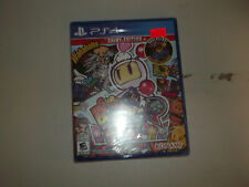 NEW Super Bomberman R: Shiny Edition FACTORY SEALED PS4 SONY PlayStation Game