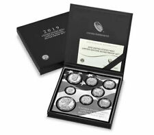 8 Coin Set 2019 S US Limited Edition Silver Proof Coins