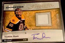NHL Hot Prospects Auto Patch, Tuukka Rash, Boston Bruins, #223, N/M Condition