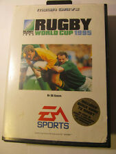 SEGA MEGA DRIVE RUGBY WORLD CUP 1995 BOX AND INSTRUCTIONS EA SPORTS