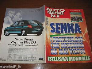 AUTOSPRINT 1994/47=AYRTON SENNA=TARGO FLORIO=RALLY PIANCAVALLO TERRA=MIKA SALO=