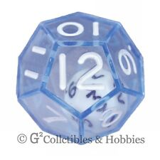 NEW Blue Double Dice RPG Gaming D12 Twelve Sided Game Die Math
