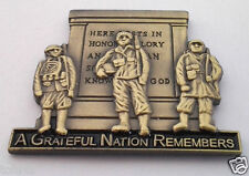 A GRATEFUL NATION REMEMBERS  Military Veteran Hat Pin 14609 HO