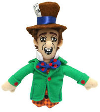 MAD HATTER Alice in Wonderland fingerpuppet fridge Magnet doll finger puppet