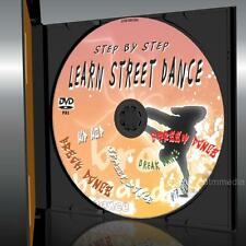 LEARN STREET DANCE/ BREAKDANCE/HIP HOP EASY STEP BY STEP FOR BEGINNERS DVD NEW