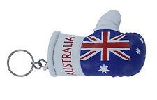 PORTACHIAVI porta chiavi auto keychain Guantoni da boxe bandiera australia