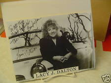 Lacy J Dalton, Hand Signed w/personalized message, Orange County Fair 1983 Music